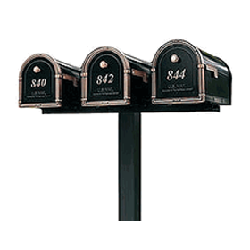 Triple Mailboxes