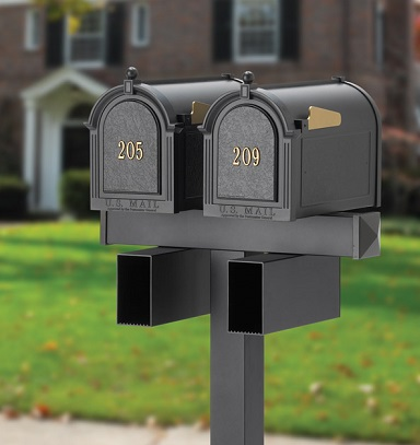 Whitehall Products Double Mailbox Package