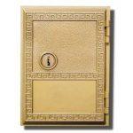 #1 DOOR-REPLACEMENT DOOR FOR AMERICANA MAILBOXES-WITH (2) KEYS