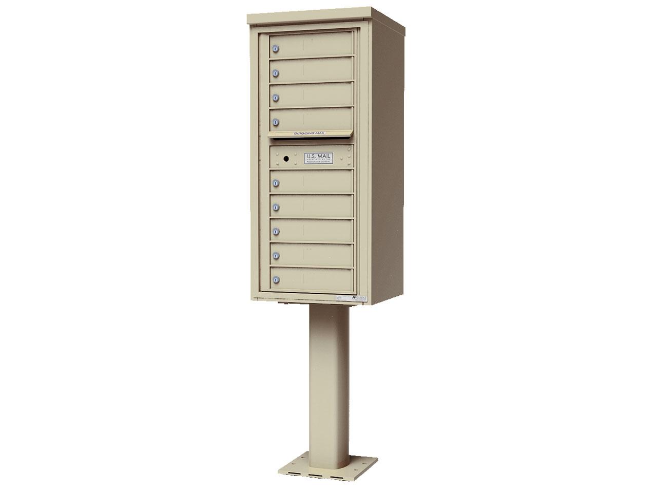 4C Pedestal - 9 Doors