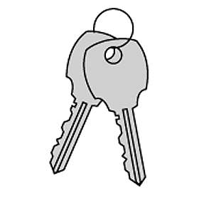 Additional Key - for 4B+ Horizontal Mailbox Standard Lock