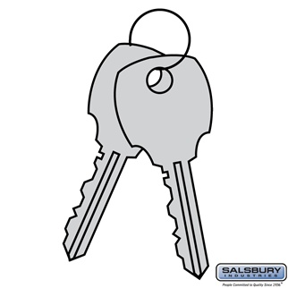 Additional Key - for 4C Pedestal Mailbox Lock