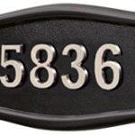 All Black<br>Satin Nickel Numbers