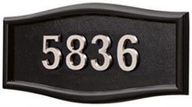 All BlackSatin Nickel Numbers