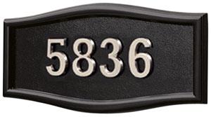 All BlackSatin Nickel Numbers
