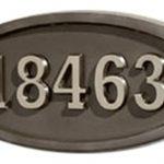 All Bronze<br>Satin Nickel Numbers
