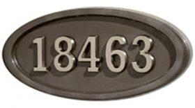 All BronzeSatin Nickel Numbers