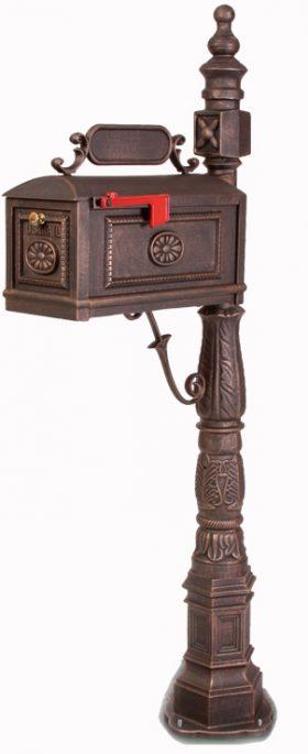 Better Box Mailbox and Post  Bronze