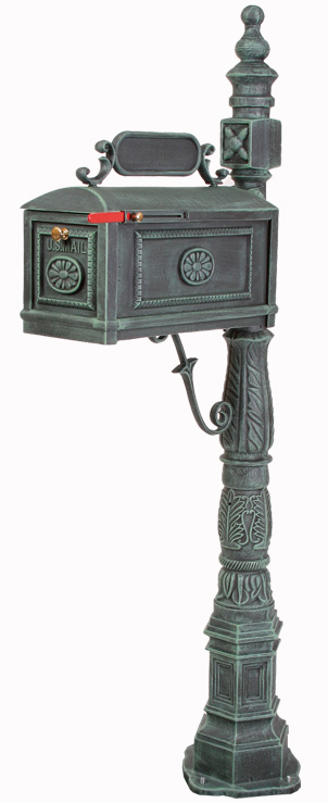 Better Box Mailbox and Post  Verde