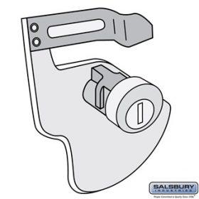 Tenant Parcel Locker Lock - for 4C Pedestal Parcel Locker - with (3) Keys