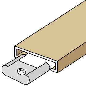 TRIM KIT-FOR UP TO 3 COLUMNS OF AMERICANA MAILBOXES-BEIGE